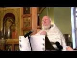 Проповедь протоиерея Дмитрия Смирнова.
